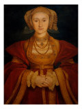 Portrait of Anne of Cleves Giclee Print by Hans Holbein the Younger