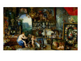 The Five Senses: Sight Giclee Print by Jan Bruegel the Elder
