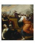 Women Fighting Giclee Print by Jusepe de Ribera