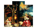 Isenheim Altar: Allegory of the Nativity Giclee Print by Matthias Gruenewald