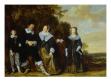 Family Group Giclee Print by Frans Hals