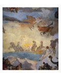 The Course of the Chariot of the Sun - detail (chariot of the sun) Giclee Print by Giambattista Tiepolo