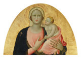 Madonna and Child Giclée-tryk af Rossello Di Jacopo Franchi