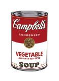 Campbell's Soup I: Vegetable, c.1968 Giclée-tryk af Andy Warhol