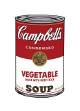 Andy Warhol - Campbell's Soup I: Vegetable, c.1968 - Giclee Baskı