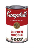 Campbell's Suppe I: Hühnersuppe mit Nudeln, ca. 1968 Giclée-Druck von Andy Warhol