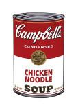 Sopa Campbell I: Fideos con pollo, c.1968 Lámina giclée por Andy Warhol