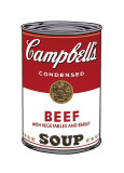 Campbell's Soup I: Beef, c.1968 Stampa giclée di Andy Warhol