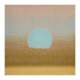 Sunset, c.1972 (gold, blue) Giclée-tryk af Andy Warhol