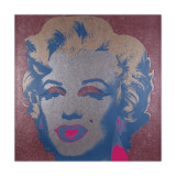 Marilyn, c.1967 (Silver) Gicle-tryk af Andy Warhol