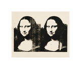Double Mona Lisa, c.1963 Giclee Print by Andy Warhol