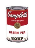 Andy Warhol - Campbell's Soup I: Green Pea, c.1968 - Giclee Baskı