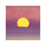 Sunset, c.1972 (pink, purple, yellow) Giclee Print by Andy Warhol