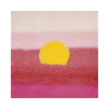 Sunset, c.1972 (hot pink, pink, yellow) Giclee-vedos tekijänä Andy Warhol