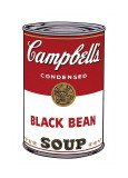 Campbell's Soup I: Black Bean, c.1968 Lmina gicle por Andy Warhol
