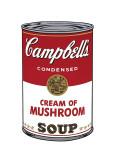 Campbell's Soup I: Cream of Mushroom, c.1968 Lámina giclée por Andy Warhol