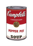 Andy Warhol - Campbell's Soup I: Pepper Pot, c.1968 - Giclee Baskı
