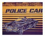Police Car, c.1983 Giclée-tryk af Andy Warhol