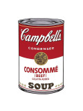 Campbell&#39;s Soup I: Consomme, c.1968 Giclee Print by Andy Warhol