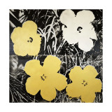 Flowers, c.1966 (Yellow and White) Giclee-vedos tekijänä Andy Warhol