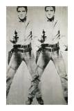 Dubbel Elvis, ca 1963 Gicleetryck av Andy Warhol