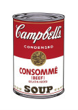 Campbell's Soup I: Consomme, c.1968 Lmina gicle por Andy Warhol