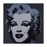 Marilyn, c.1967 (Black) Giclée-tryk af Andy Warhol