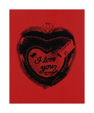 Heart, c.1984 (I Love You) Giclee Print by Andy Warhol