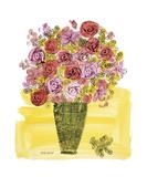 Andy Warhol - Basket of Flowers, c.1958 Digitálně vytištěná reprodukce