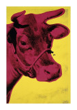 Cow, c.1966 (Yellow and Pink) Lámina giclée por Andy Warhol