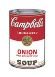 Campbell's Soup I: Onion, c.1968 Stampa giclée di Andy Warhol