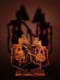 Javanese Shadow Puppets Photographic Print by Abdul Kadir Audah