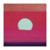 Sunset, c.1972 (hot pink, purple, red, blue) Giclée-tryk af Andy Warhol