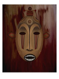 Ceremonial Mask Giclee Print by Rich LaPenna