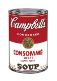 Campbell's Soup I: Consomme, c.1968 Giclée-tryk af Andy Warhol