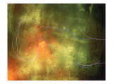 Abstract Image Yellow,Green, and Red Giclee Print by Daniel Root