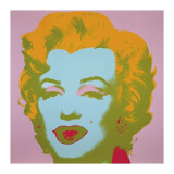 Marilyn, c.1967 (Pale Pink) Gicle-tryk af Andy Warhol