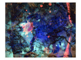 Abstract Image in Blue Giclee Print by Daniel Root
