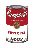 Campbell's Soup I: Pepper Pot, c.1968 Giclée-tryk af Andy Warhol