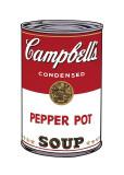 Andy Warhol - Campbell's Soup I: Pepper Pot, c.1968 - Giclee Baskı