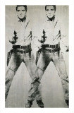 Double Elvis, circa 1963 Stampa giclée di Andy Warhol