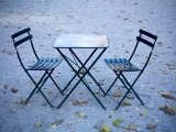 Two Chairs and Table Photographic Print by Eric Anthony Johnson