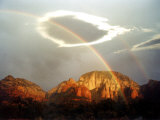 Thunder Mountain, Sedona, Arizona, USA Photographic Print by Margaret L. Jackson