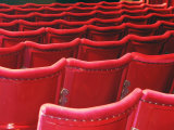 Rows of Red Theatre Seats Photographic Print by Kevin Walsh
