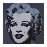 Andy Warhol - Marilyn, c.1967 (Black) Digitálně vytištěná reprodukce