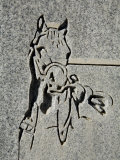 North America, Nevada, White Pine County, Lund, Lund Cemetery, Headstone Detail Photographic Print by Deon Reynolds