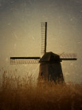 A Windmill with Old Photo Treatment Photographic Print by Abdul Kadir Audah