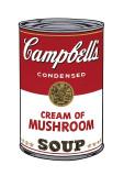Andy Warhol - Campbell's Soup I: Cream of Mushroom, c.1968 - Giclee Baskı