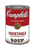 Andy Warhol - Campbell's Soup I: Vegetable, c.1968 - Giclee Baskı