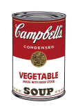 Campbell's Soup I: Vegetable, c.1968 Lámina giclée por Andy Warhol